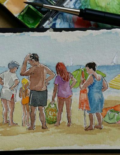 La platja d'Altafulla IV
