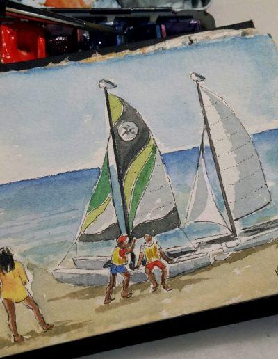 La platja d'Altafulla V